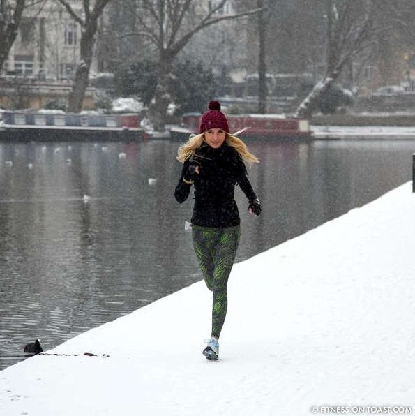 Running in the Snow square-1