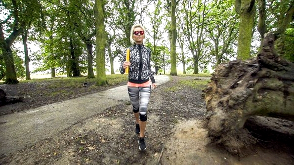 Fitness On Toast Faya healthy blog girl Adidas Eyewear Sunglasses Active Hampstead London Video Filming Relay Run-2
