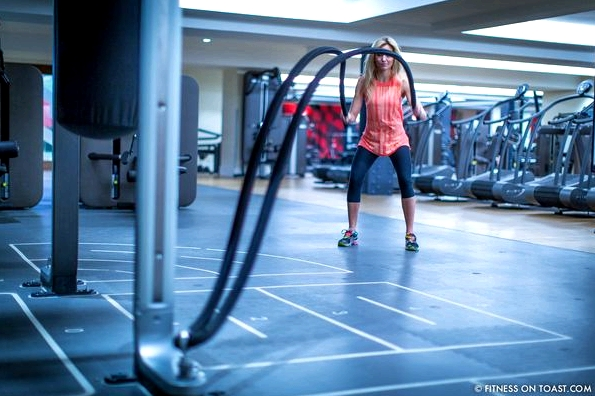Fitness On Toast Faya Blog Girl Healthy Workout Nutrition Health Training Gym Battle Ropes Virgin Active Technogym-2
