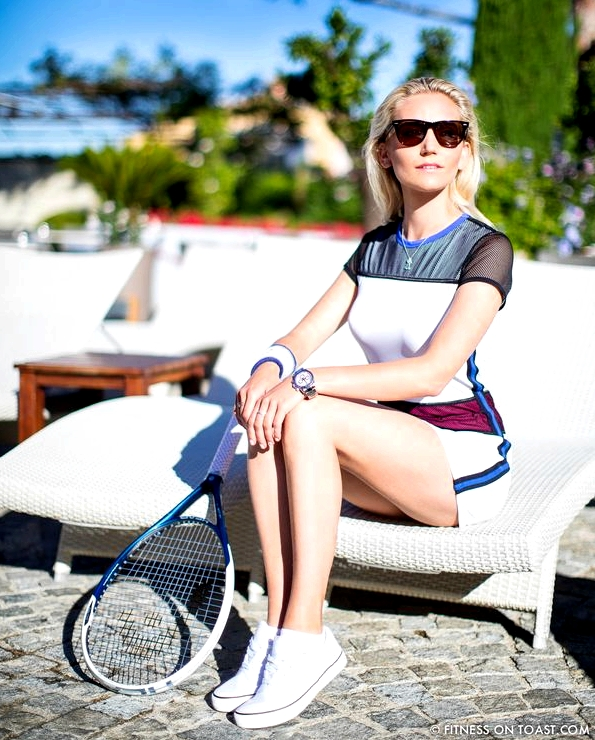 Fitness On Toast Hotel Byblos Monreal Tennis Clothes Woman Women Fashion