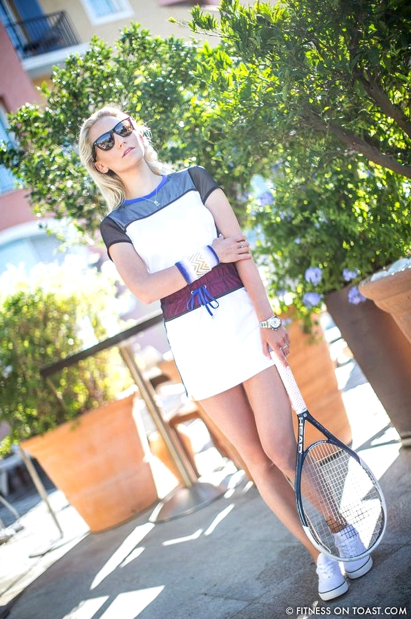 Fitness On Toast Hotel Byblos Monreal Tennis Clothes Woman Women Fashion-7