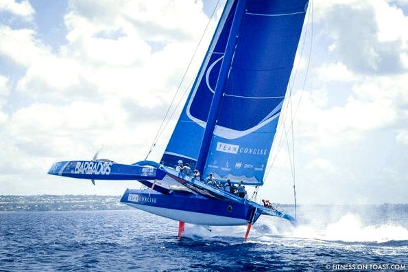 Fitness On Toast Faya Helly Hansen Sailing Demands Athlete Professional Team Concise Barbados Championship Level