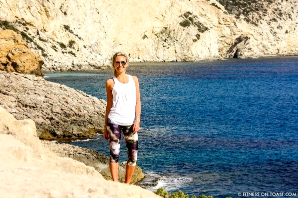 Fitness On Toast Faya Blog Girl London Travel Brita Water Fill Go Filter Sukishufu Varley Hip Healthy Ibiza Es Vedra Hike Fashion OOTD
