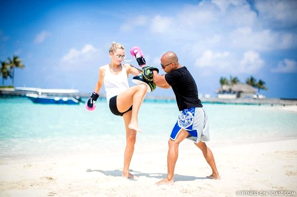 Fitness On Toast Faya Blog Girl healthy Importance Benefits of Muay Thai Martial Arts Health Active Workouts Fit Luxury W Maldives Travel-9