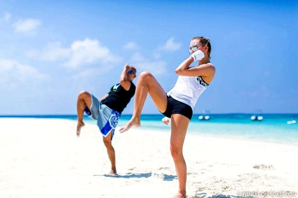Fitness On Toast Faya Blog Girl healthy Importance Benefits of Muay Thai Martial Arts Health Active Workouts Fit Luxury W Maldives Travel-6