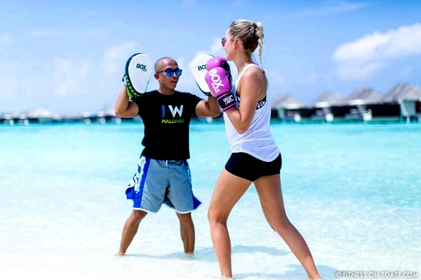 Fitness On Toast Faya Blog Girl healthy Importance Benefits of Muay Thai Martial Arts Health Active Workouts Fit Luxury W Maldives Travel-7