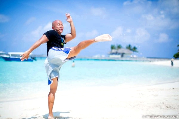 Fitness On Toast Faya Blog Girl healthy Importance Benefits of Muay Thai Martial Arts Health Active Workouts Fit Luxury W Maldives Travel-10