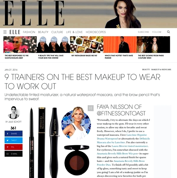 ELLE MAGAZINE ONLINE - BEAUTY - 27th Jan 2016' aria-describedby='gallery-4-14126