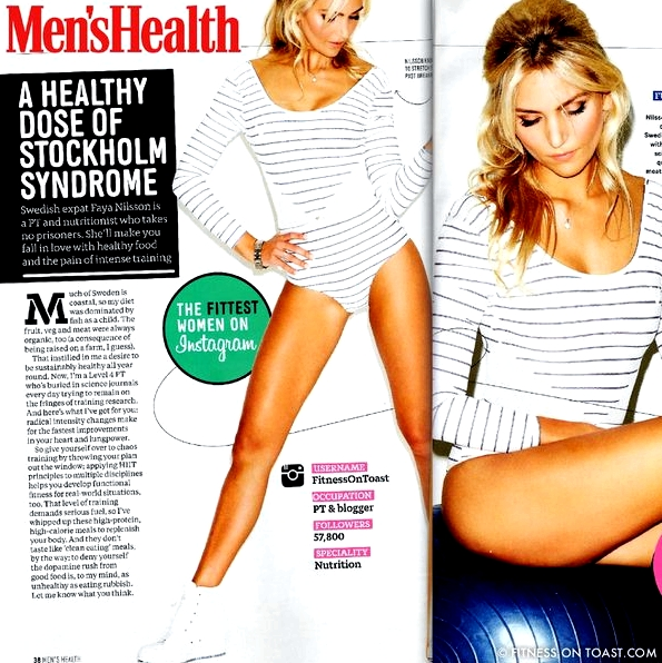 MEN'S HEALTH - MAGAZINE FEATURE - AUGUST EDITION -
