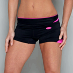 'DENISE' SHORTS in Black and Pink.http://trulyfit.co.uk/products/shorts/denise-short/' aria-describedby='gallery-4-894