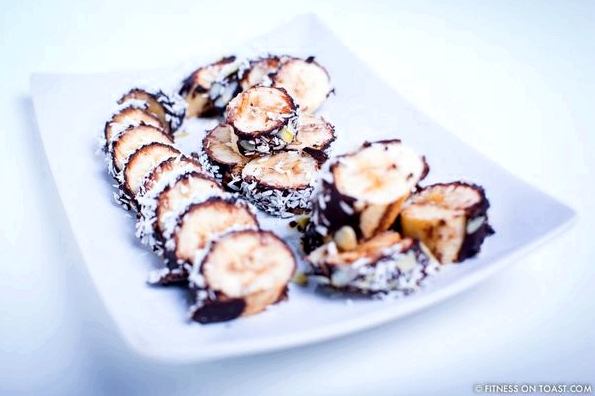 Fitness On Toast Faya Girl Blog Training Exercise Workout Nutrition Healthy Health Recipe Diet Cheat Treat Chocolate Banana Coconut Dessert Bites Nutritious Tasty Low Calorie