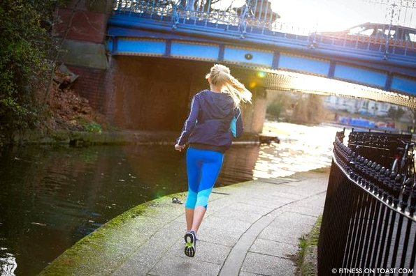 Fitness On Toast Faya Blog Girl Healthy Exercise Canal Hiit Sprint Training Workout Idea Forever 21 Activewear London Little Venice Canal Running Run-4