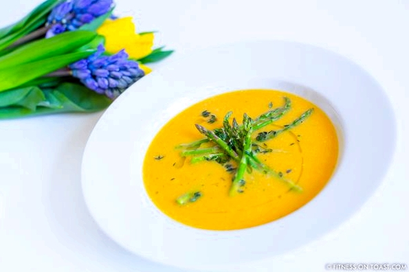 Fitness On Toast Faya Blog Girl Healthy Workout Exercise Training Fit Recipe Cooking Soup Spring Vegetable Diet Tasty Idea