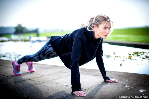 Fitness On Toast Faya Blog Girl Sport Press Up Push Workout Chest Ab Core Bodyweight Routine Why To The Grove Watford Hotel London MAIN