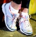 Weil Rhythm Shoes in Silver / Coralhttp://fitnessontoast.com/2013/05/25/footsie/' aria-describedby='gallery-4-1032