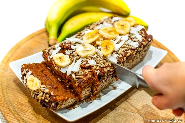 Fitness On Toast Faya Blog Girl Healthy Workout Recipe Food Idea Diet Nutrition Banana Bread Cake Healthier Lighter Recipes Recipe