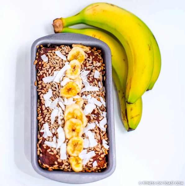 Fitness On Toast Faya Blog Girl Healthy Workout Recipe Food Idea Diet Nutrition Banana Bread Cake Healthier Lighter Recipes Recipe-3