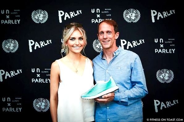 Fitness On Toast Faya Blog Healthy Girl Workout Exercise Adidas New York Parley for the Oceans UN Building Launch Shoe Recycled Ocean Plastic-10