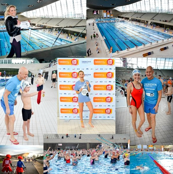 Fitness On Toast Faya Blog Girl Sport Relief Swimathon Swim Charity COMPILATION