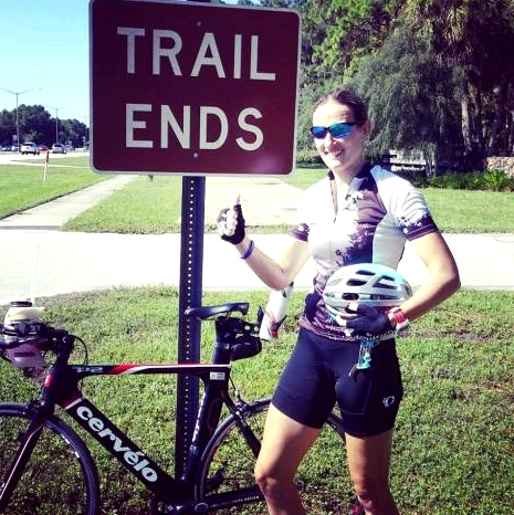 It only took 30 miles but we found the northern end of the Pinellas Trail. Only 40 more miles to go!