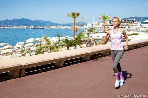 Vevie Hertford Cannes La Croisette Run Fitness On Toast Health Fashion Running Blog Faya -13