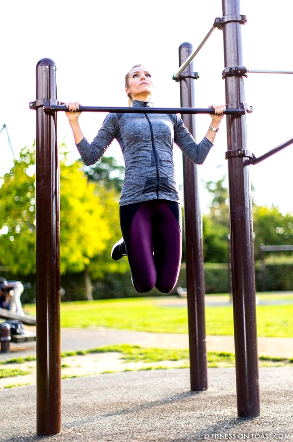 Fitness On Toast Faya Workout Girl Pull Up Pullups Chin Up Bar Bodyweight Cheap Exercise Blog Routine Idea-5