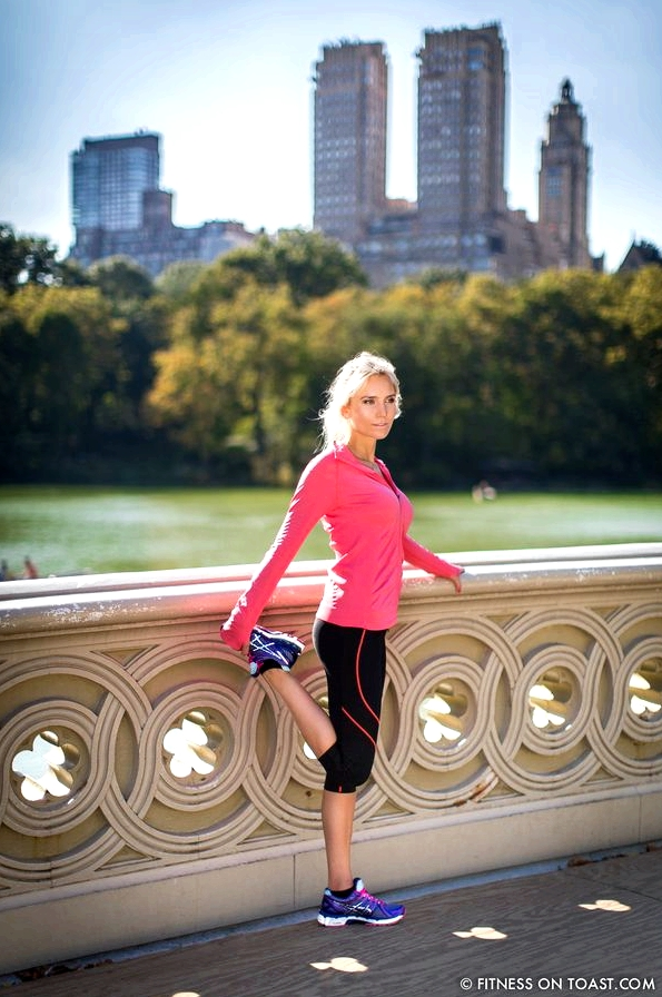 Asics New York Central Park Fitness On Toast Faya Blog Running Training Stretching Women Routine-10