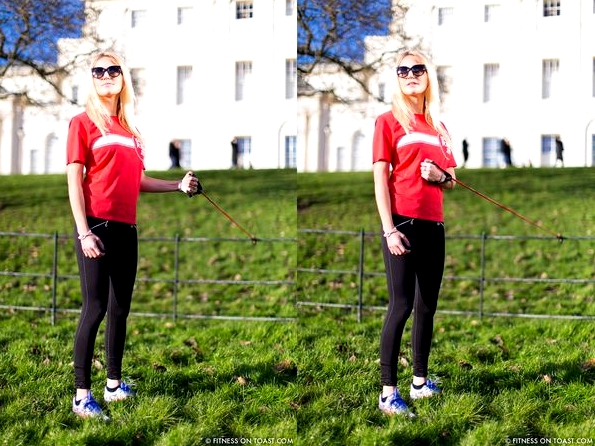 Fitness On Toast Faya Blog Sports Clothes Exercise and Fashion Post Kenwood House Sport Relief 2014 Charity Comic Relief Arm Rehab Resistance Band Exercises Strength Muscle - compilation 5