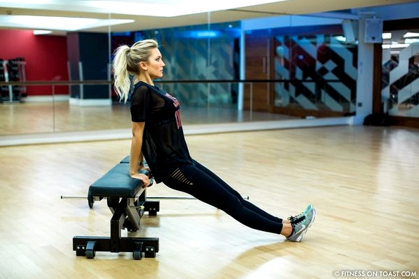 Fitness On Toast Faya Blog Girl Healthy Health Workout Arm Exercise Forever 21 Virgin Active Gym Training Fashion-16