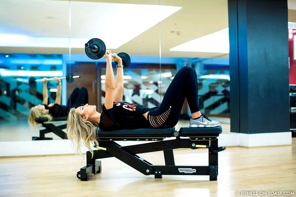 Fitness On Toast Faya Blog Girl Healthy Health Workout Arm Exercise Forever 21 Virgin Active Gym Training Fashion-19